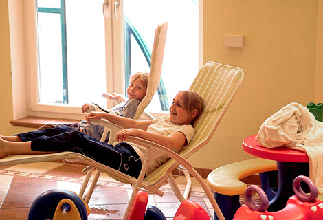 Kids-Wellness im Kinderhotel Bruckwirt